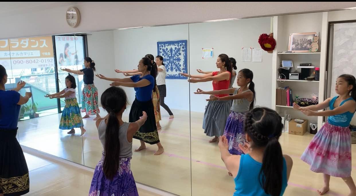 英語でフラダンス‼︎体験会