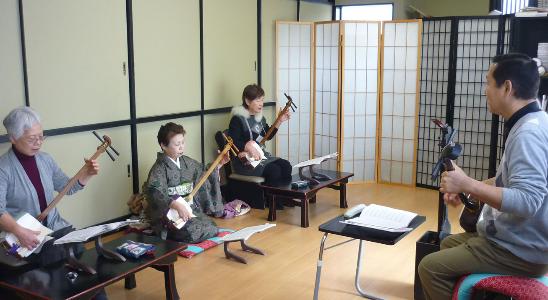 いろはの江戸小唄&三味線体験(八王子教室)