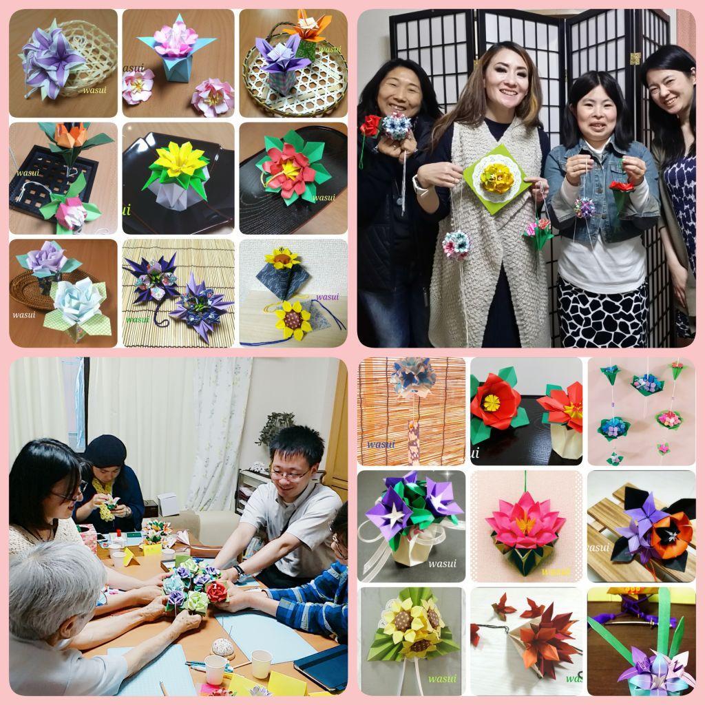 「花のくす玉」教室 阿佐ヶ谷