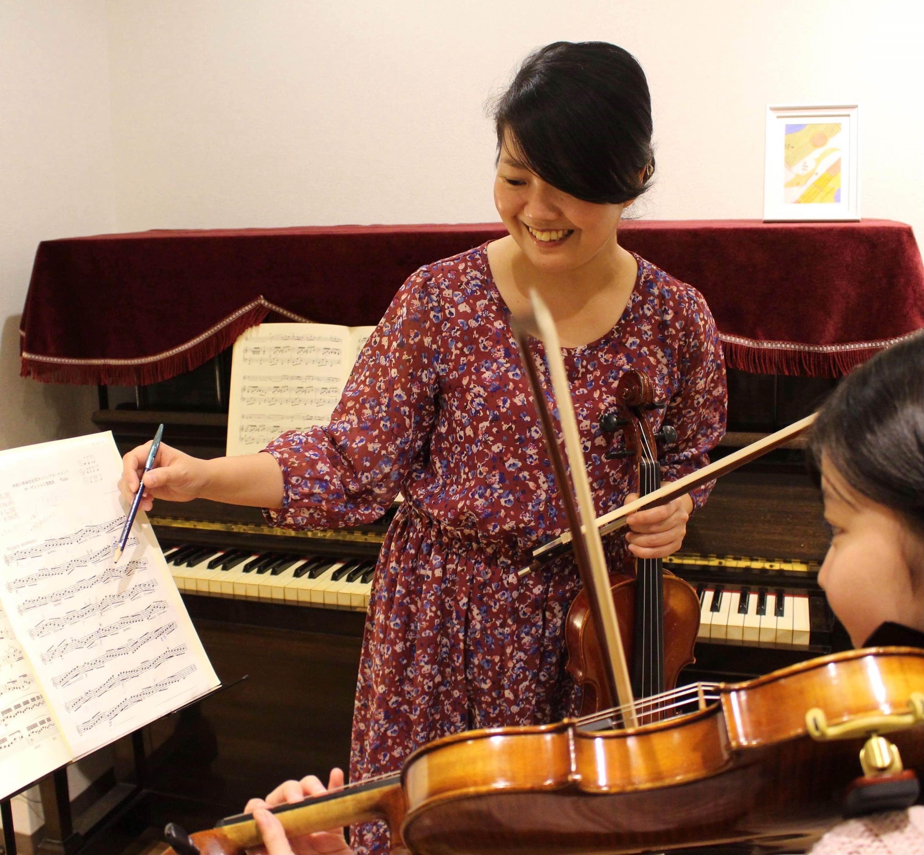 バイオリン♪こども1dayレッスン