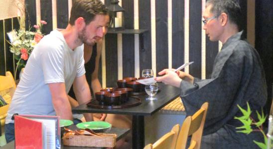 英語で茶かぶき(きき抹茶)ジェラート体験教室