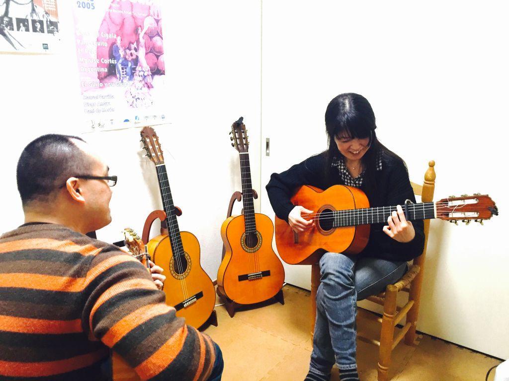江戸裕 フラメンコギター・クラシックギター・弾き語り教室 茨城クラス