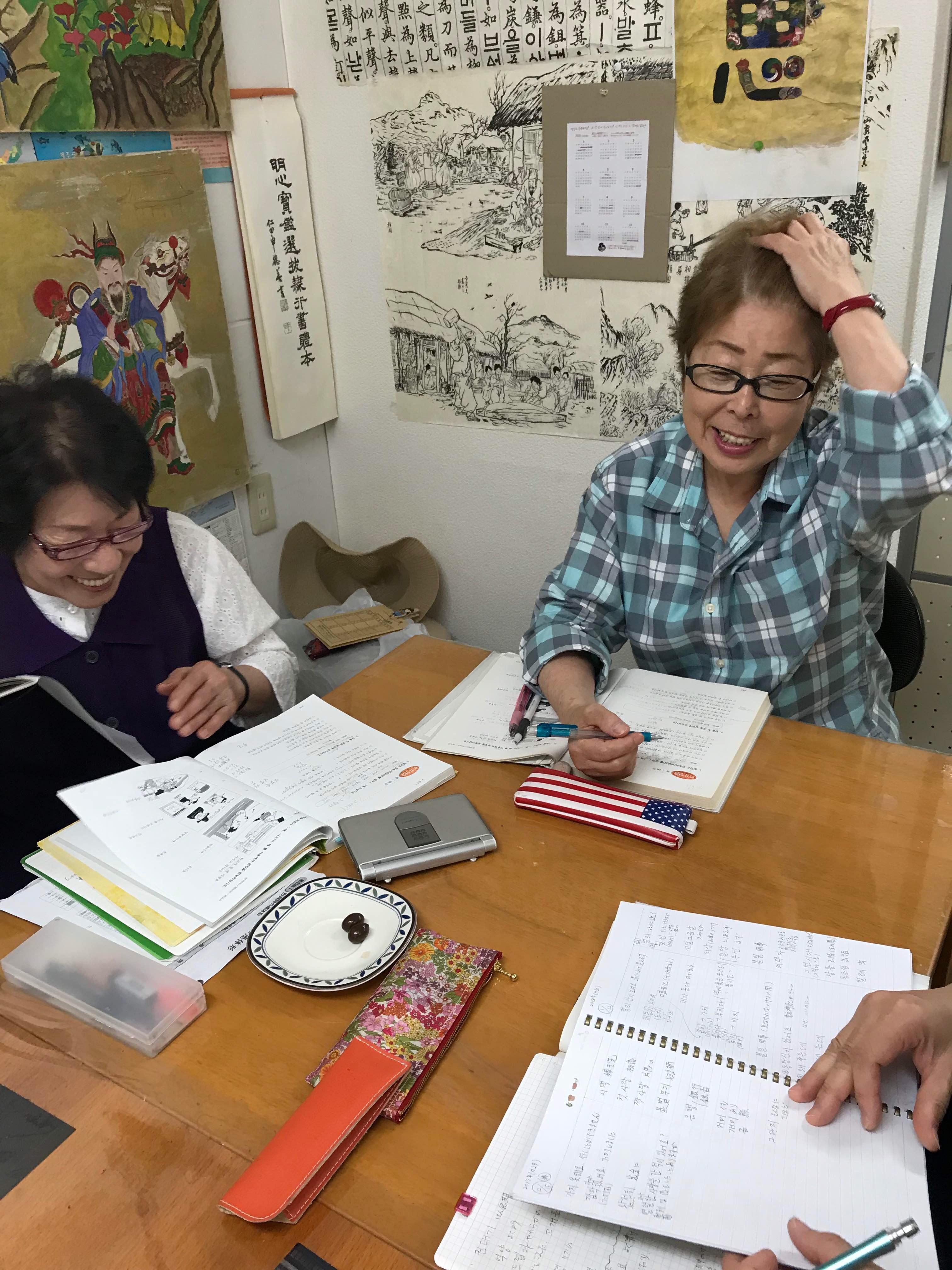 韓国語なら楽しく学ぶ覚王山韓国語サロンで。
