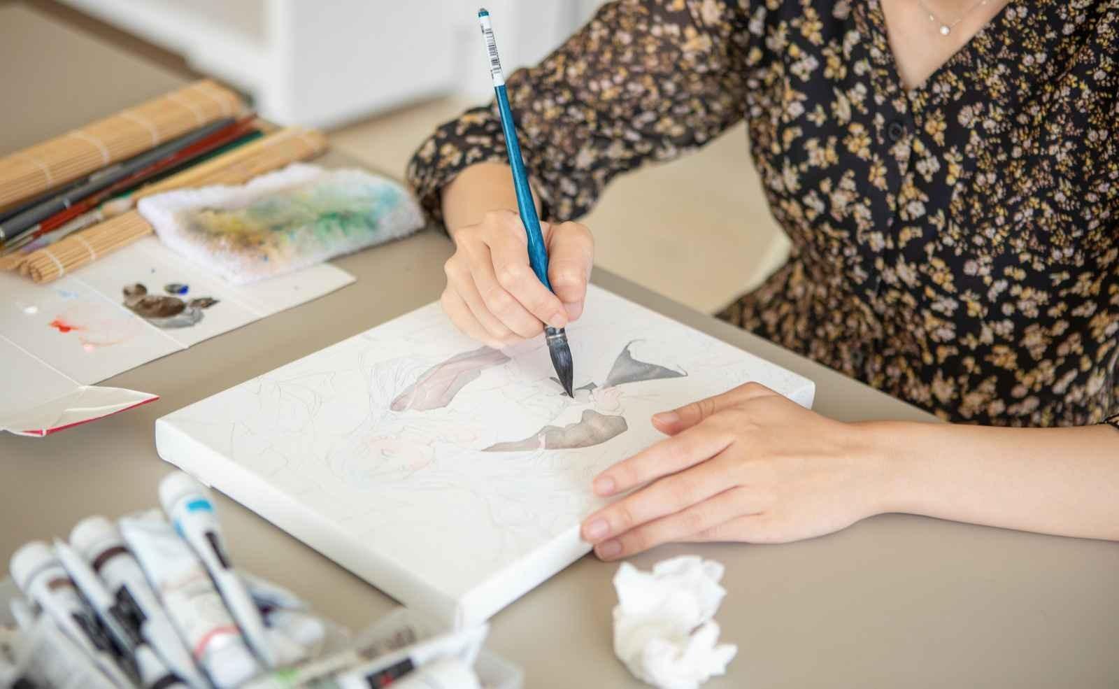 アートセラピールームPOF:大人絵画教室