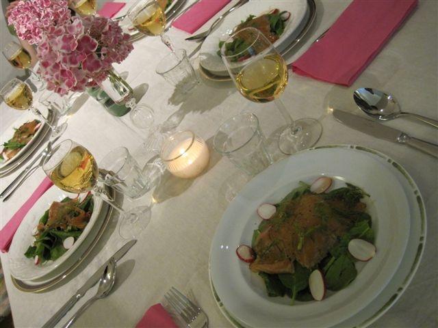 テーブルコーディネートとお料理 Mito、London