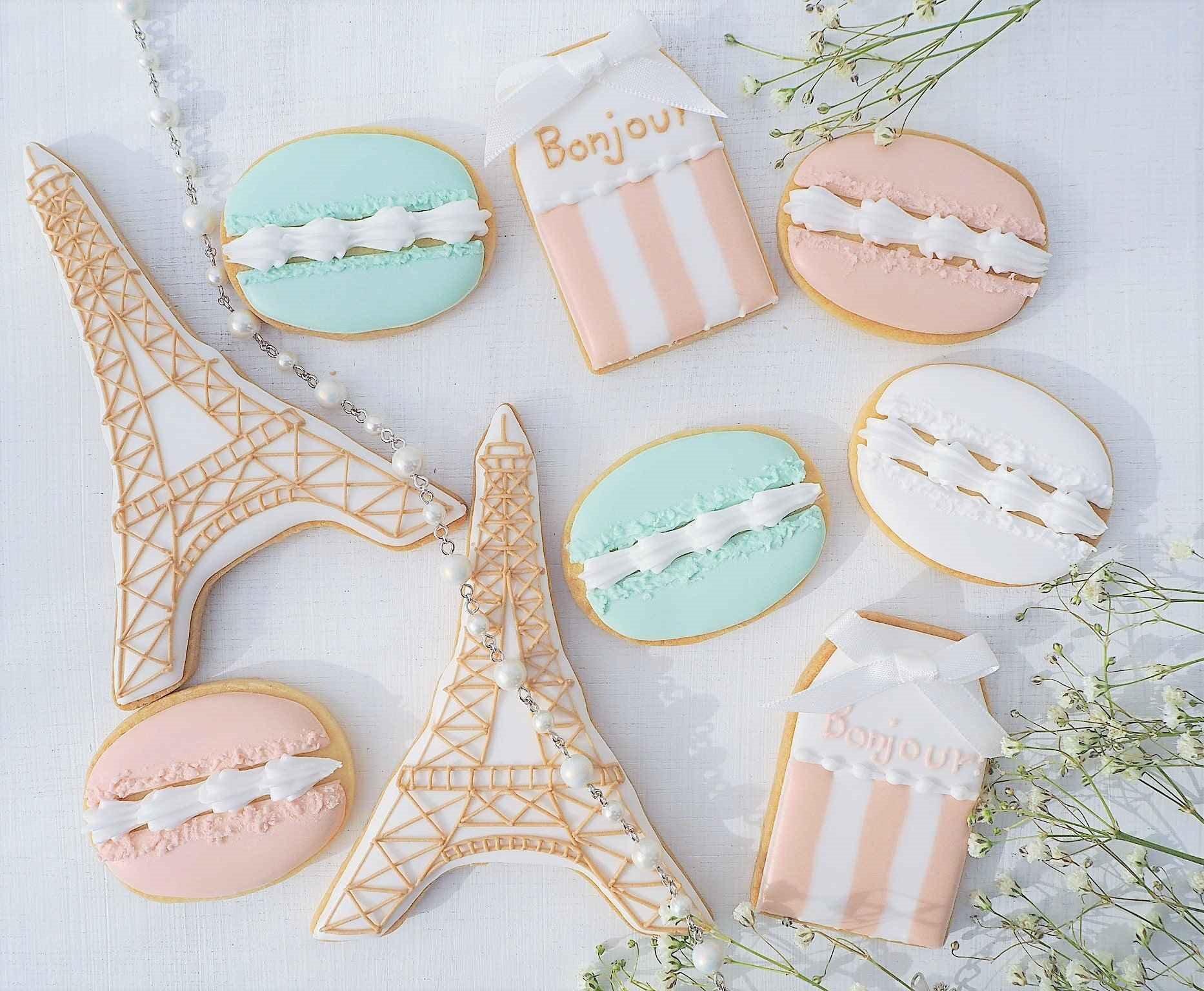 フランステーマのアイシングクッキーレッスン