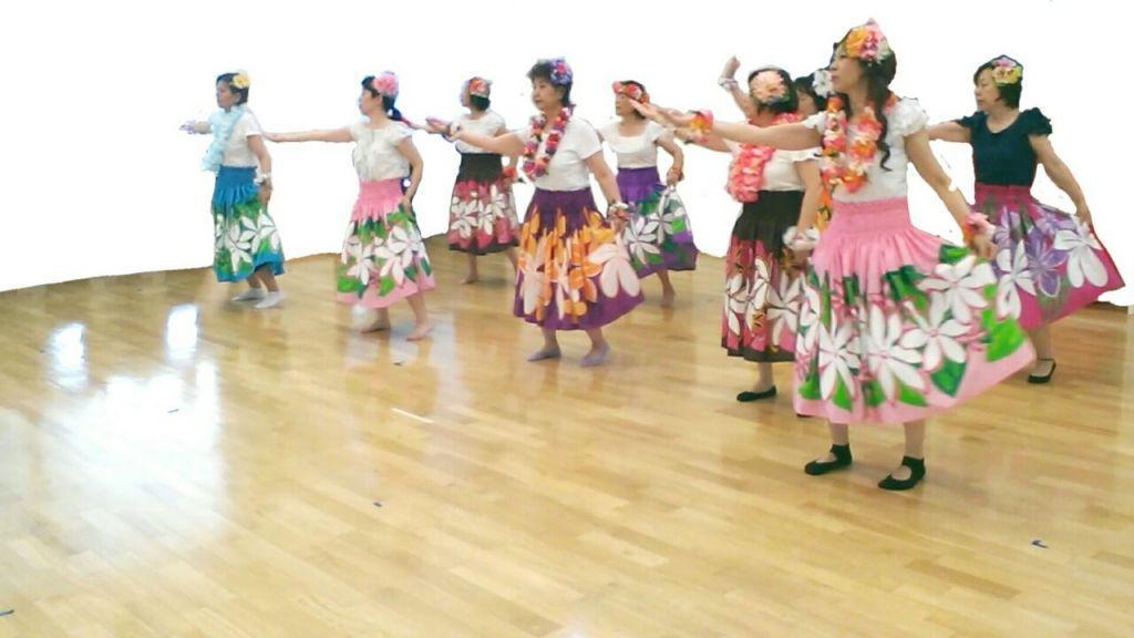 奈良葛城のんびり初級フラダンス教室