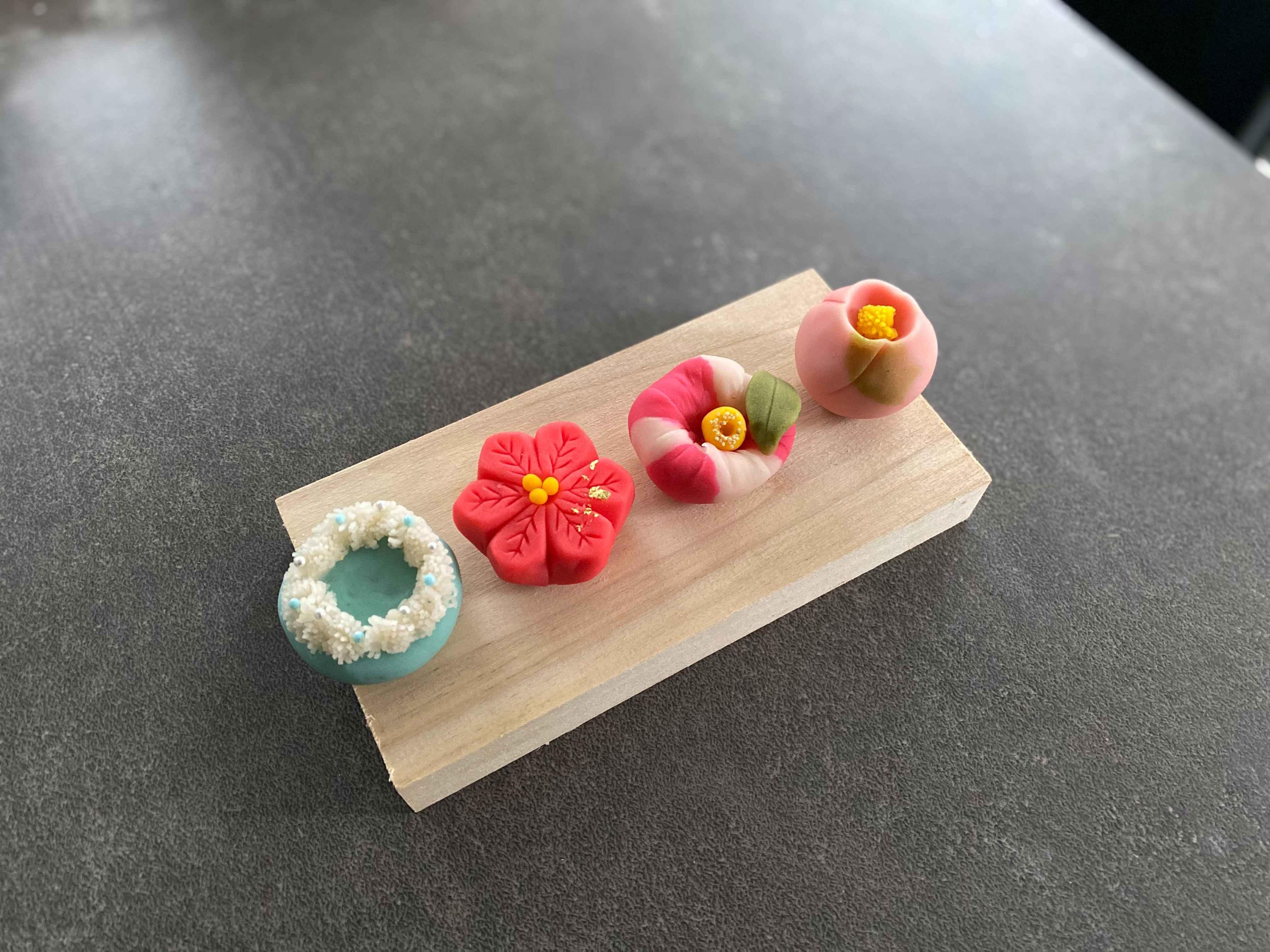 練り切り和菓子とあんフラワーの教室~The Suyari Table~