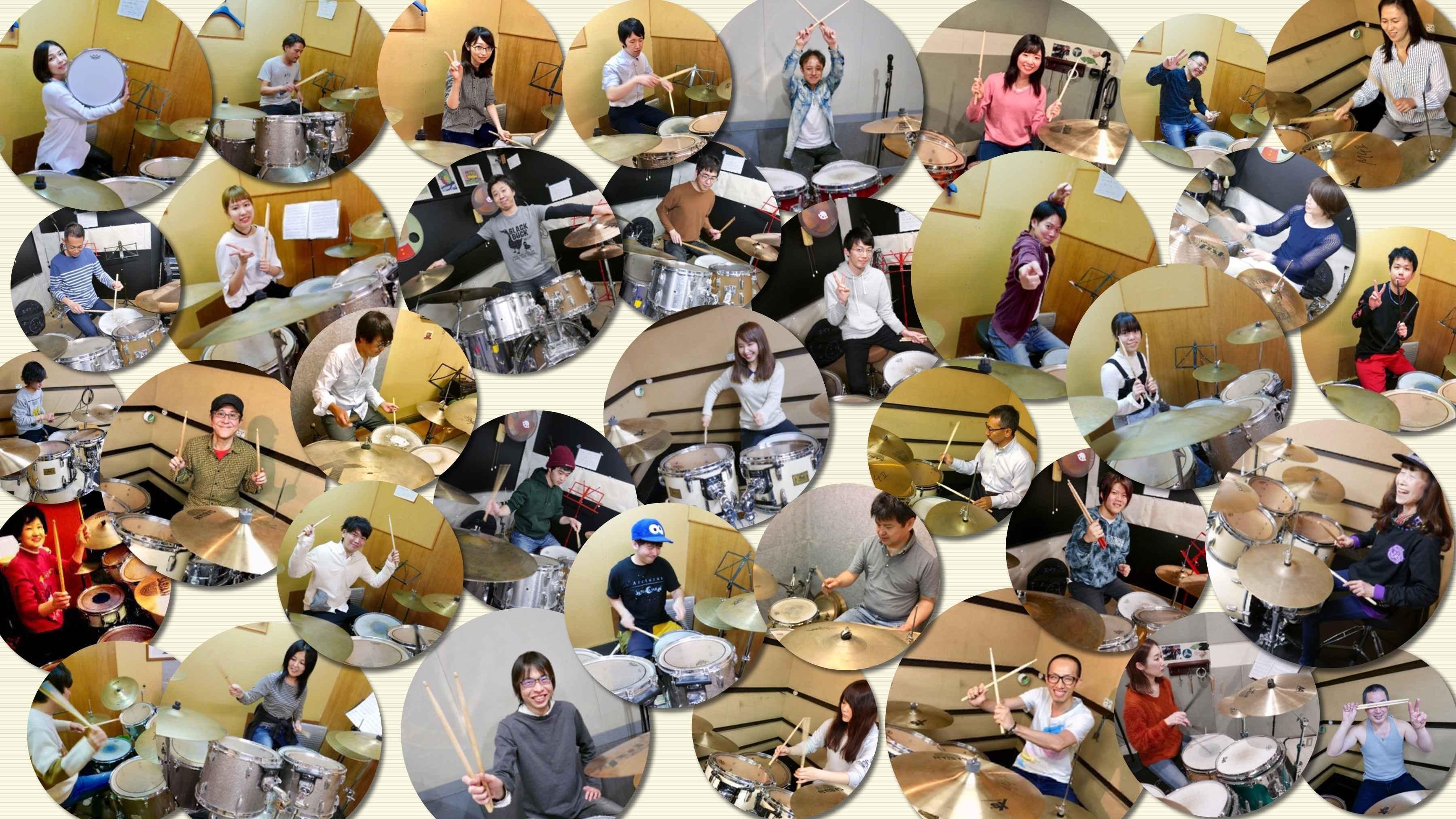 =ドラム教室=大阪梅田吹田の新感覚ドラムレッスン