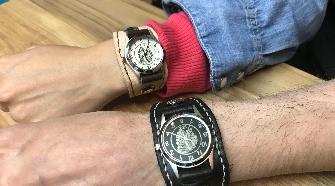 レザークラフト・腕時計作り体験