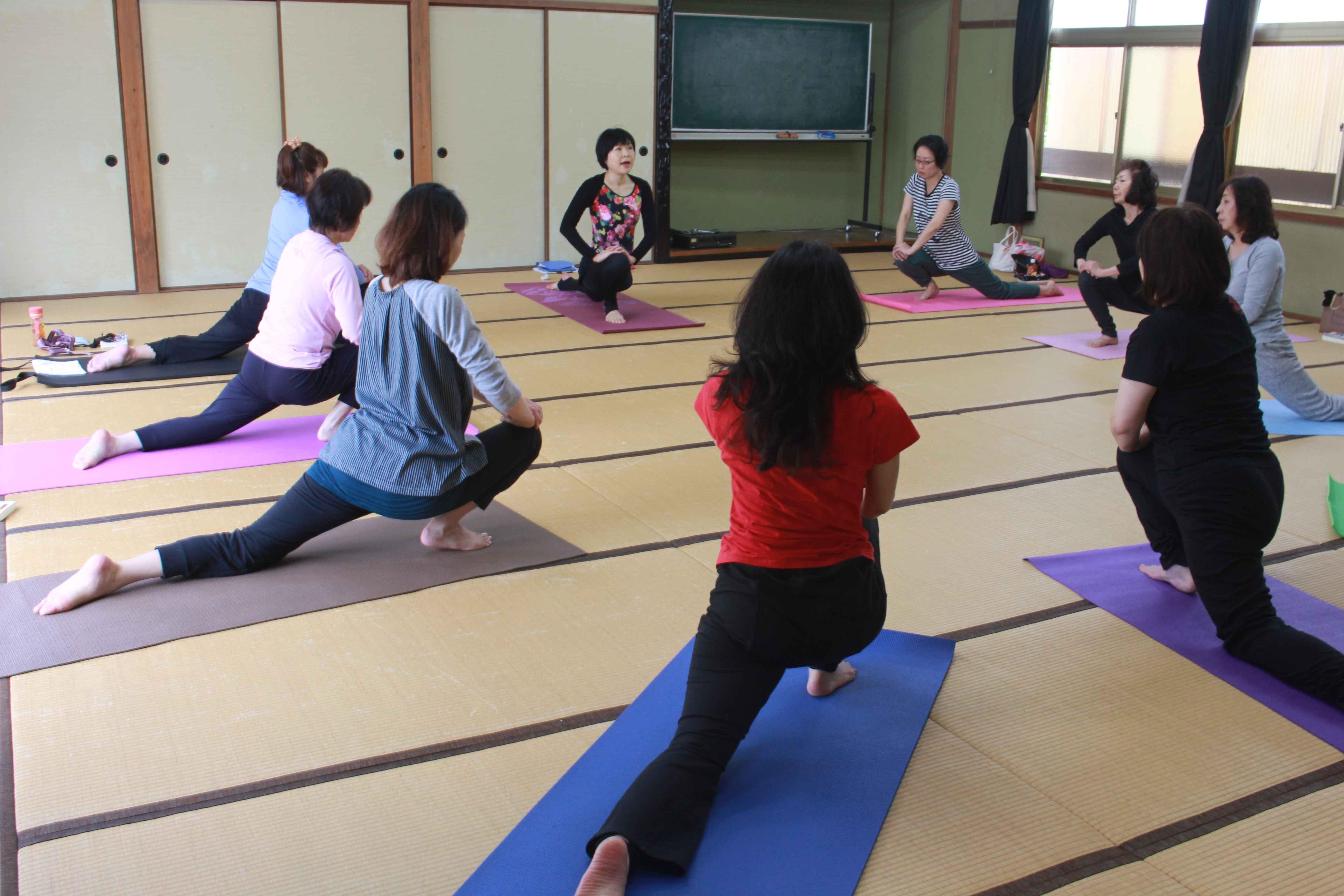 パーソナルヨガ広島海老園教室