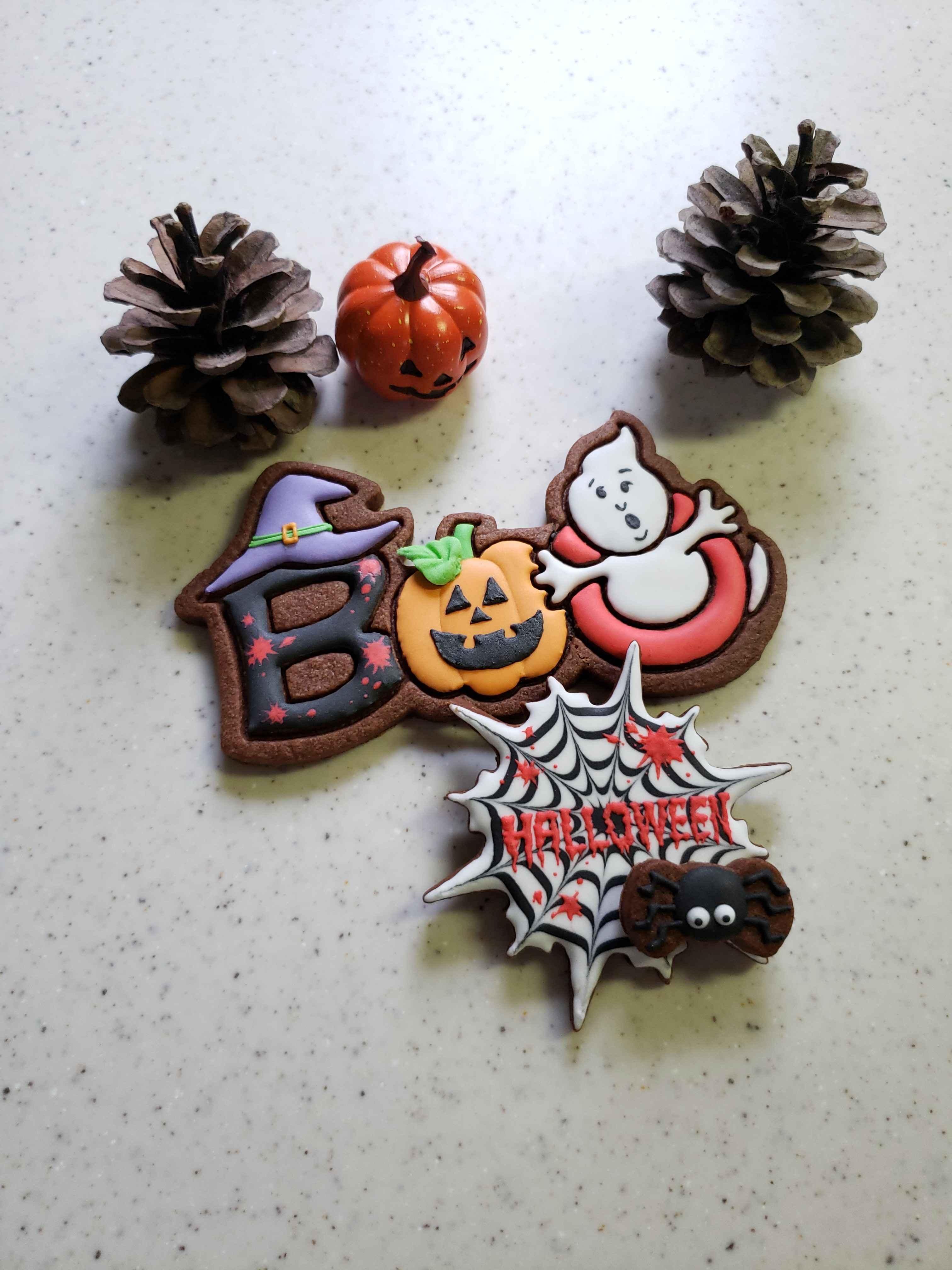 Happy Halloween アイシングクッキーワークショップ