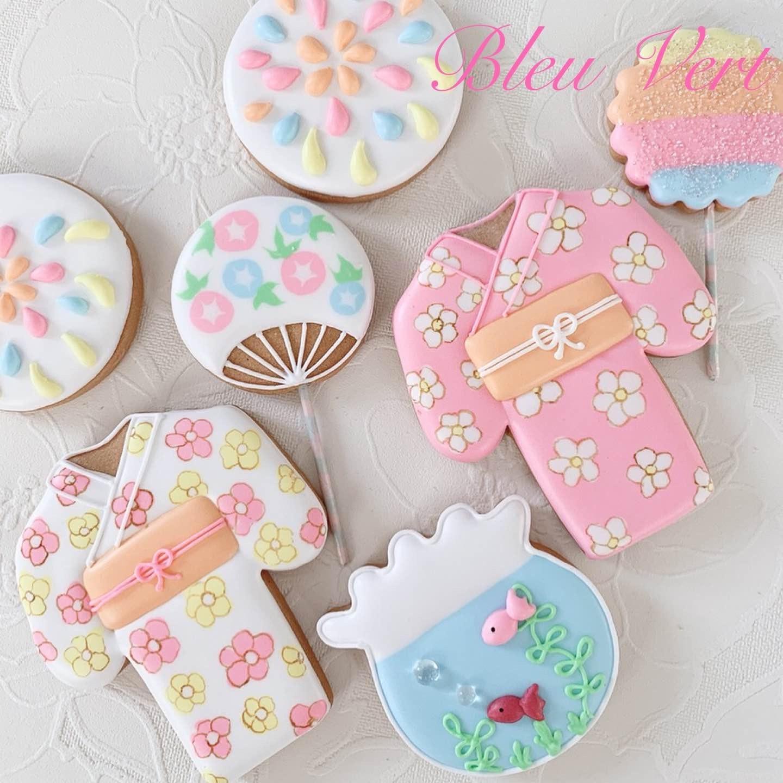 千葉県アイシングクッキー・ケーキポップス教室♡