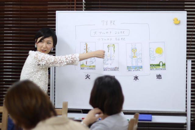 一般社団法人タロットリーダー協会 タロット講座 渋谷校