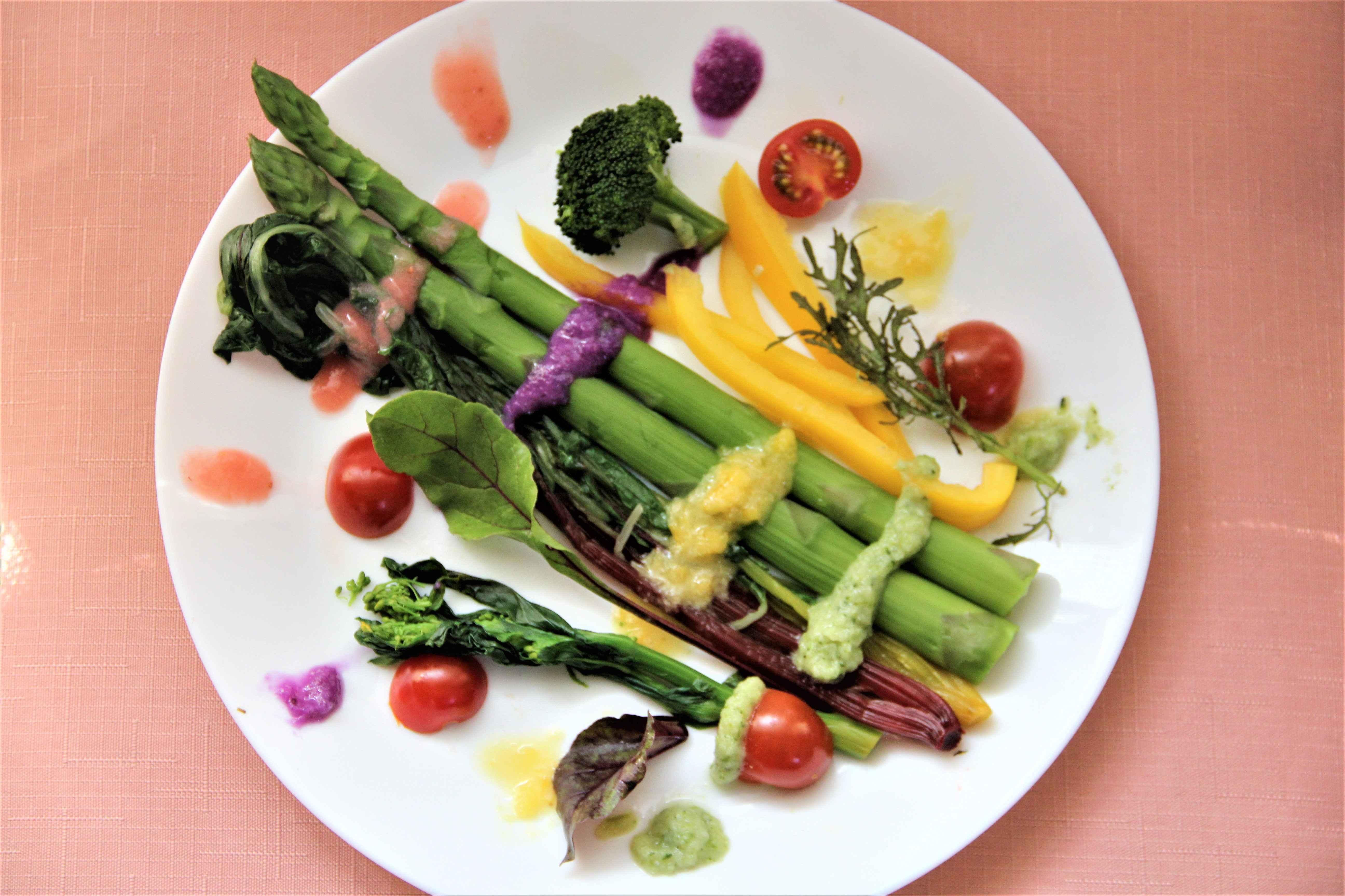 地球と体に優しいカラフル塩麹de野菜サラダ&スープ講座♪