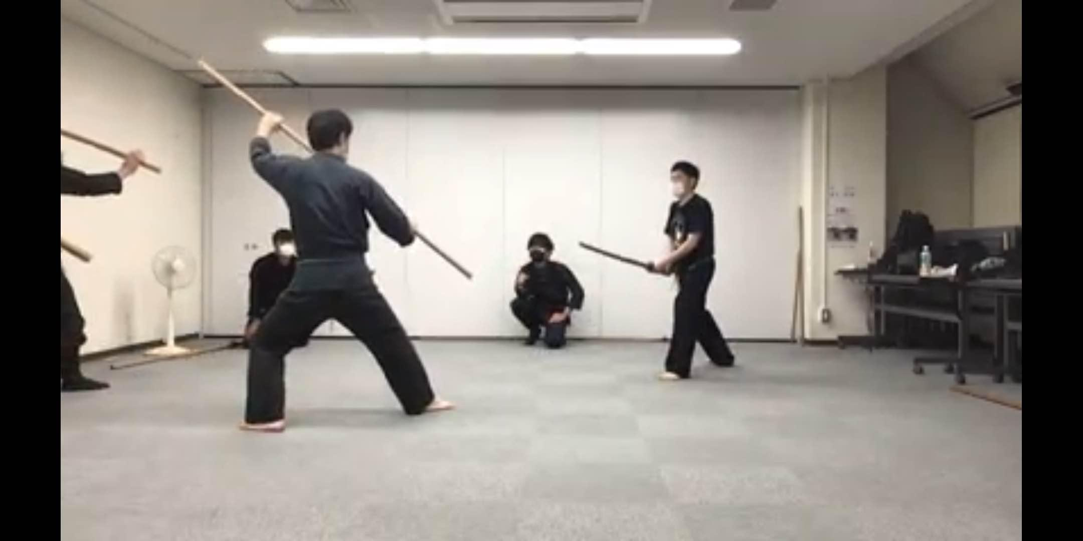 古武道/古武術/忍術 開成道場 港区教室
