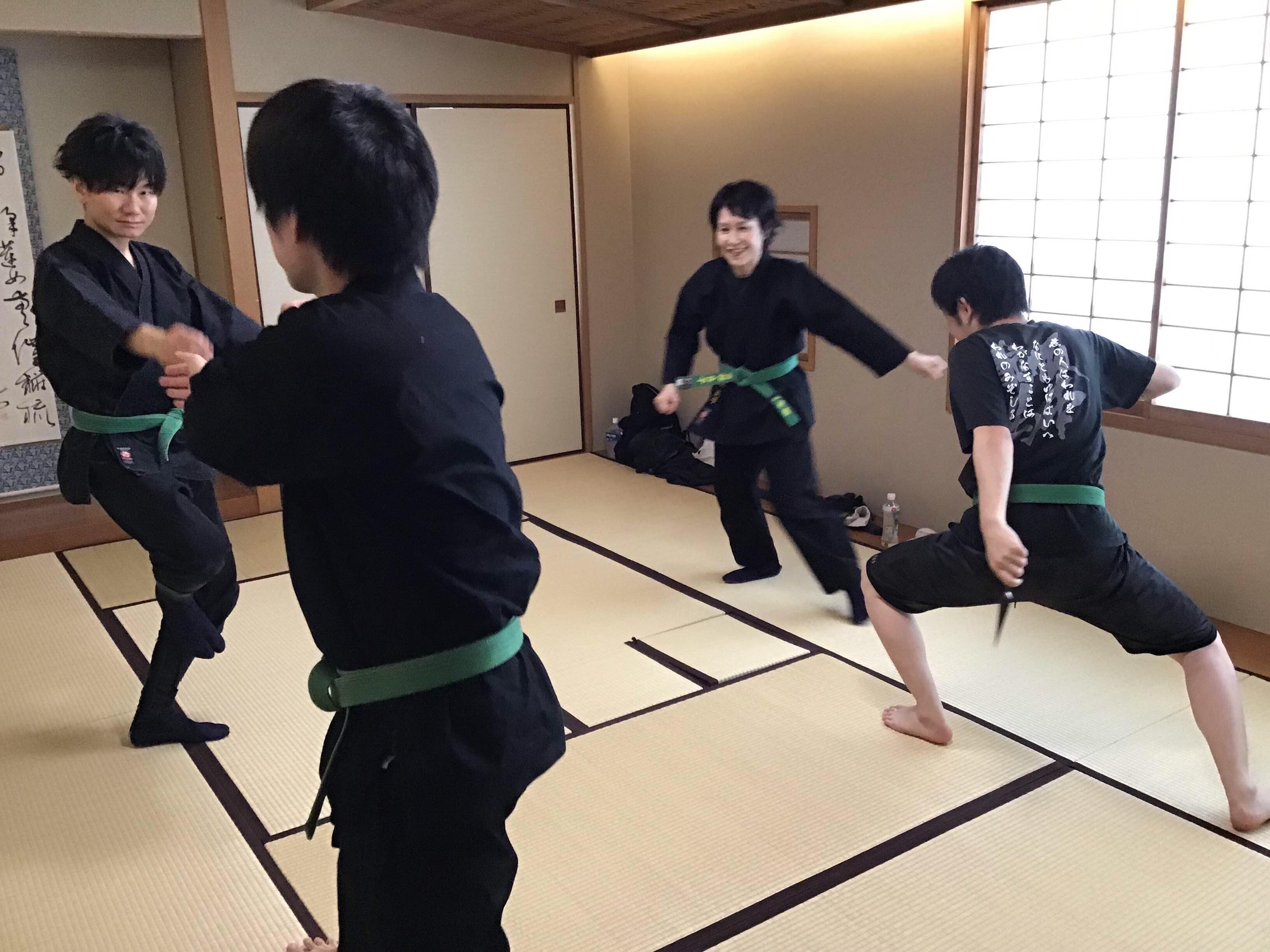 古武道/古武術/忍術 開成道場 新宿区教室