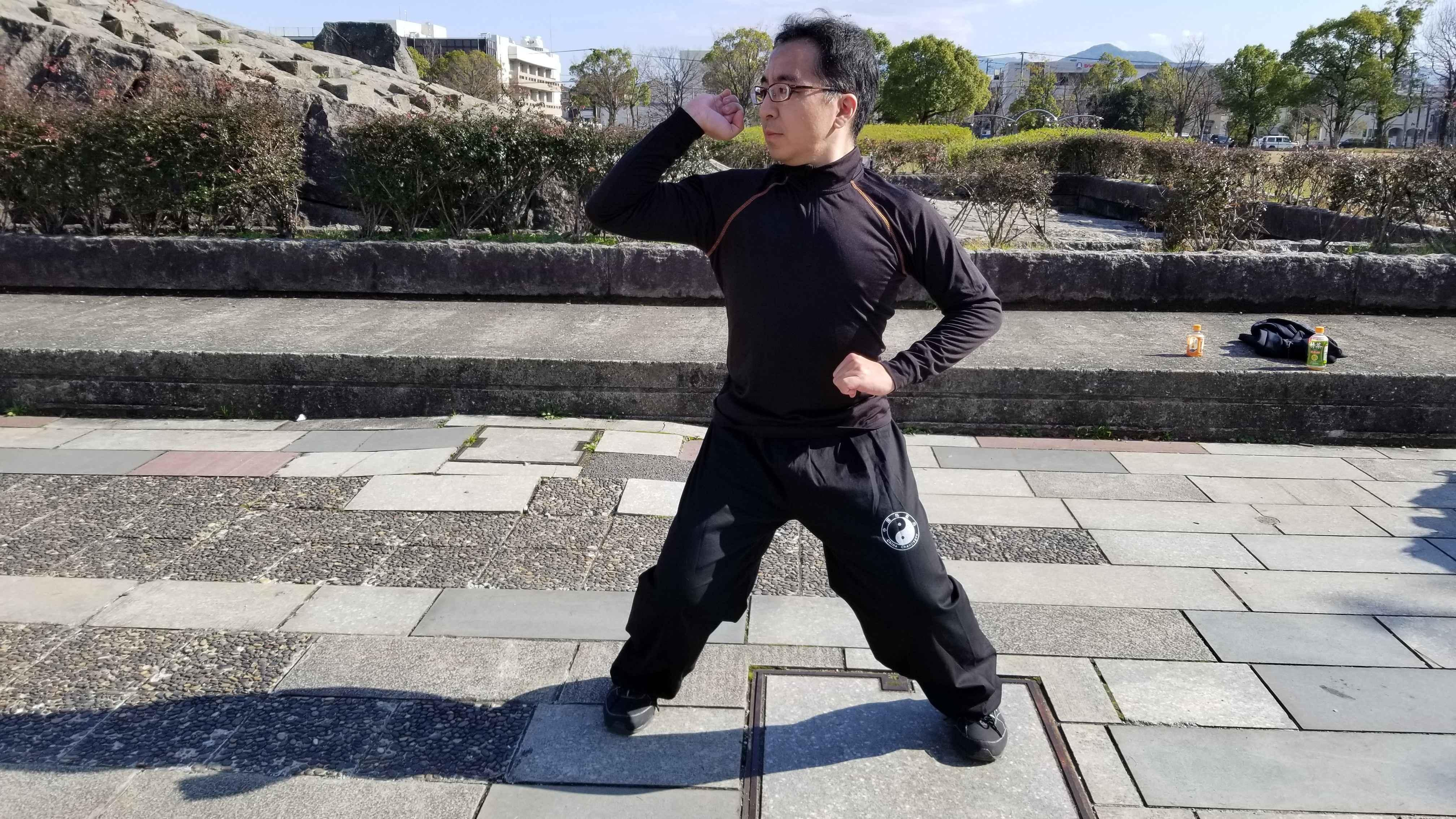 九州期間限定講座! 八極拳&蟷螂拳の戦闘法で中国武術体験!!