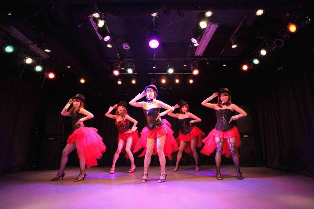 大人の女性にぴったりセクシーなバーレスク・ハイヒールダンス一日体験大阪