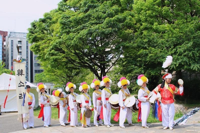 韓ソリ(ハンソリ) チャンゴ教室 福岡韓国会館(博多駅前)
