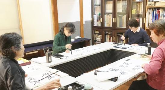 漢字とかなの書道教室 池袋
