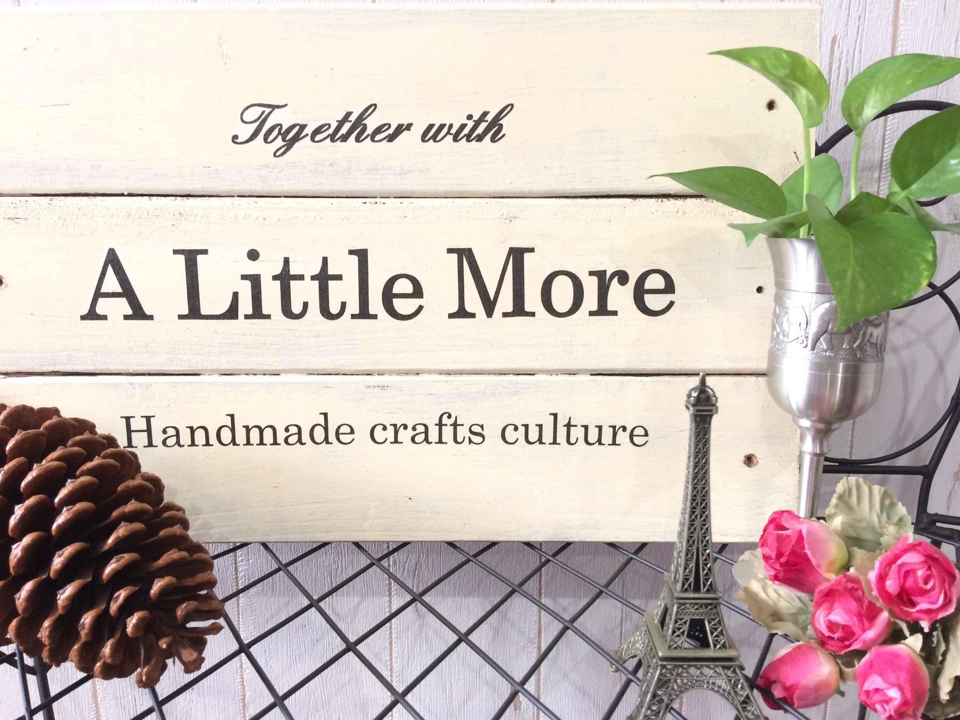 ハンドメイド教室&Shop A Little More