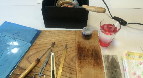 江戸を知る 技体験! 美術押絵で作るオリジナルストラップをゲットしよう!