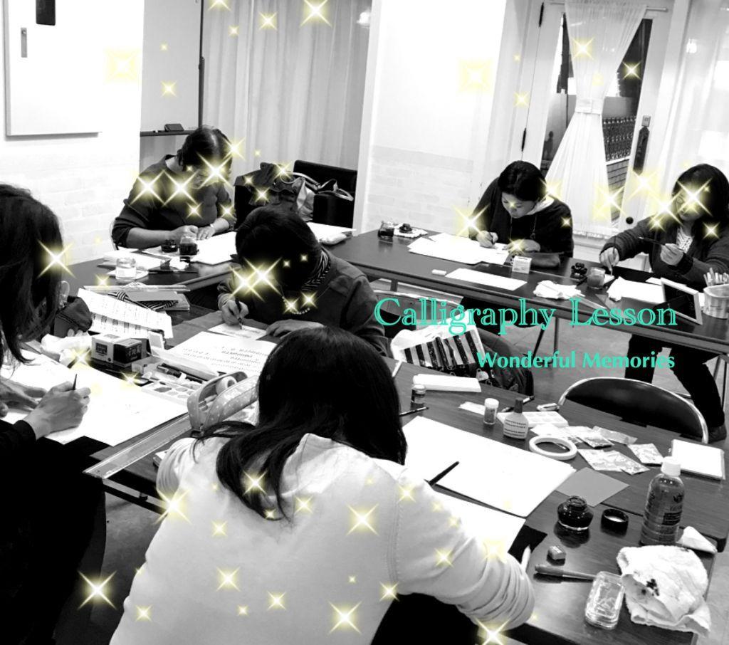 カリグラフィー教室ワンダフルメモリーズ 鎌倉教室
