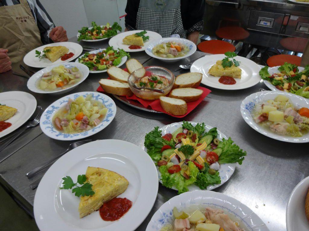 ポテトクラブ(男の料理教室)