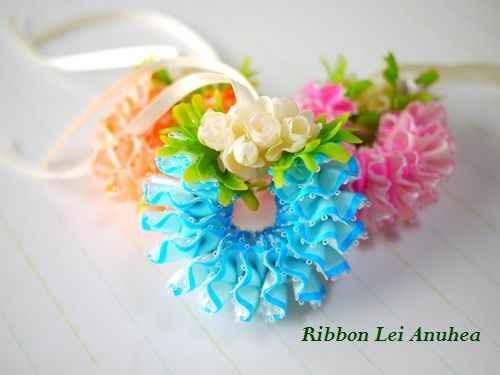 ハワイアンリボンレイ教室 Ribbon Lei Anuhea
