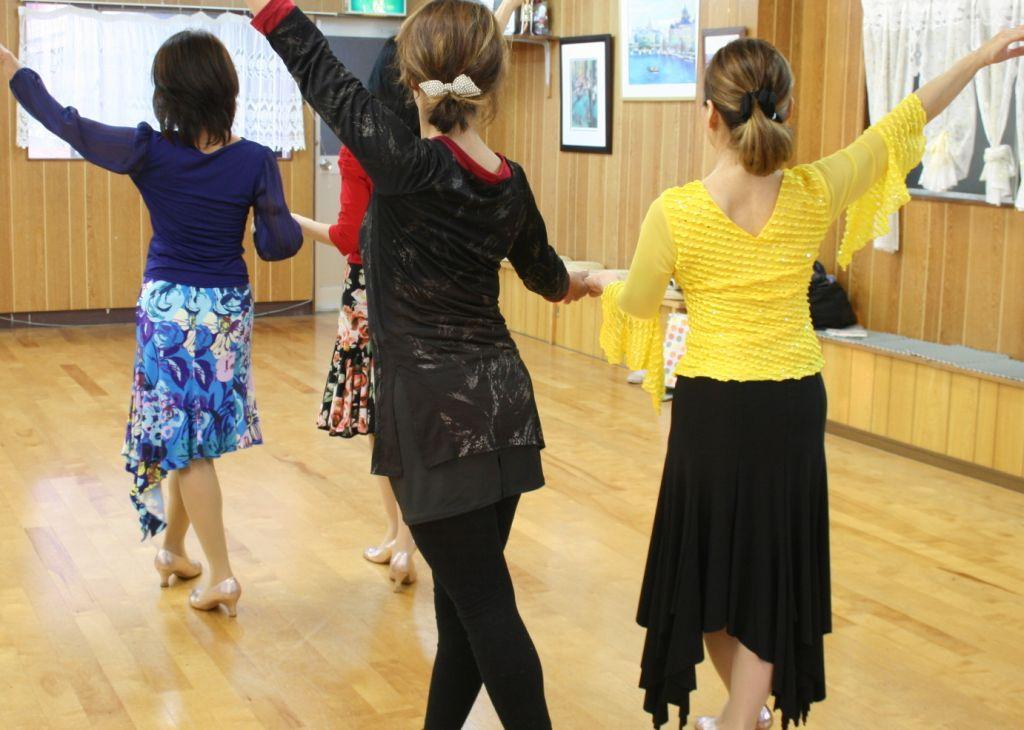 社交ダンス教室 トゥーヒール