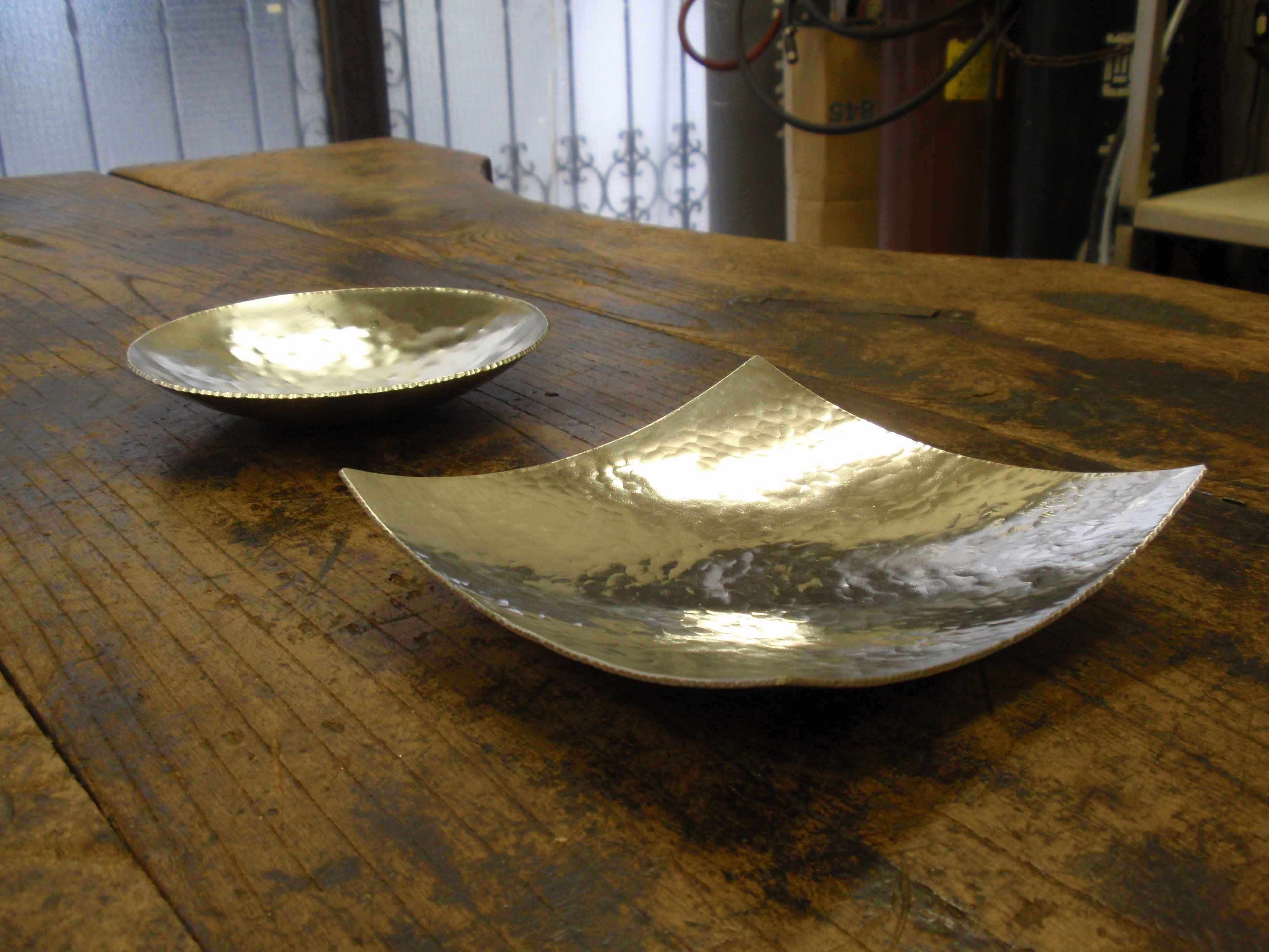 伝統工芸の工房で人気の錫小皿体験! #エシカル#フェアトレード