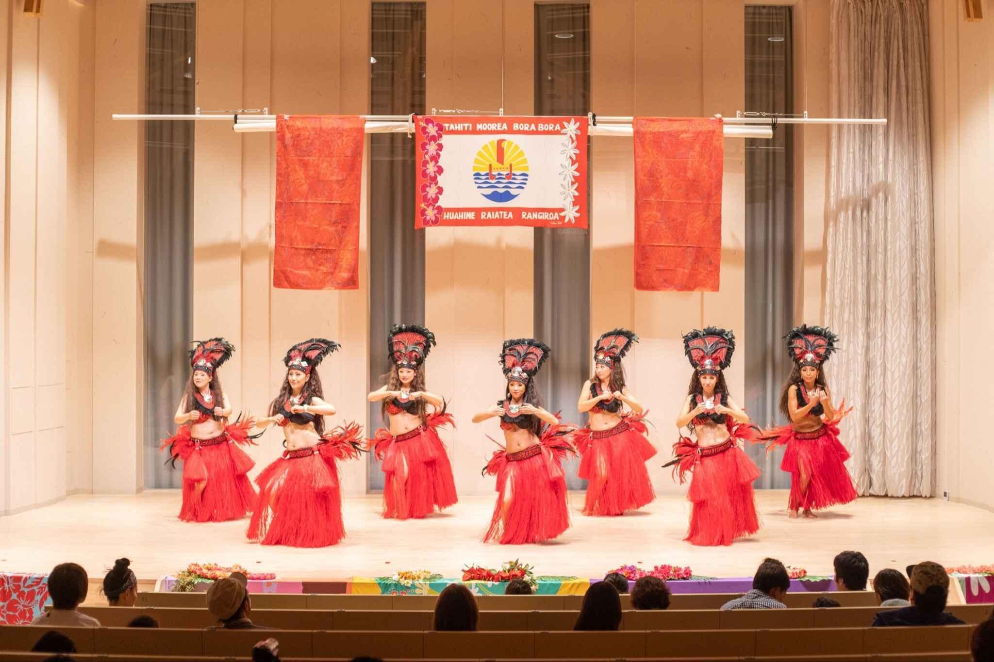 タヒチアンダンス TE ORA API TAHITI