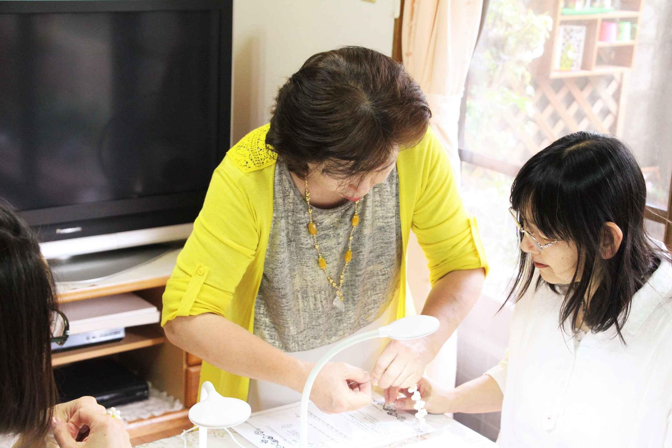 幸せ時間を作る ビーズアクセサリー教室COLORE(コローレ)