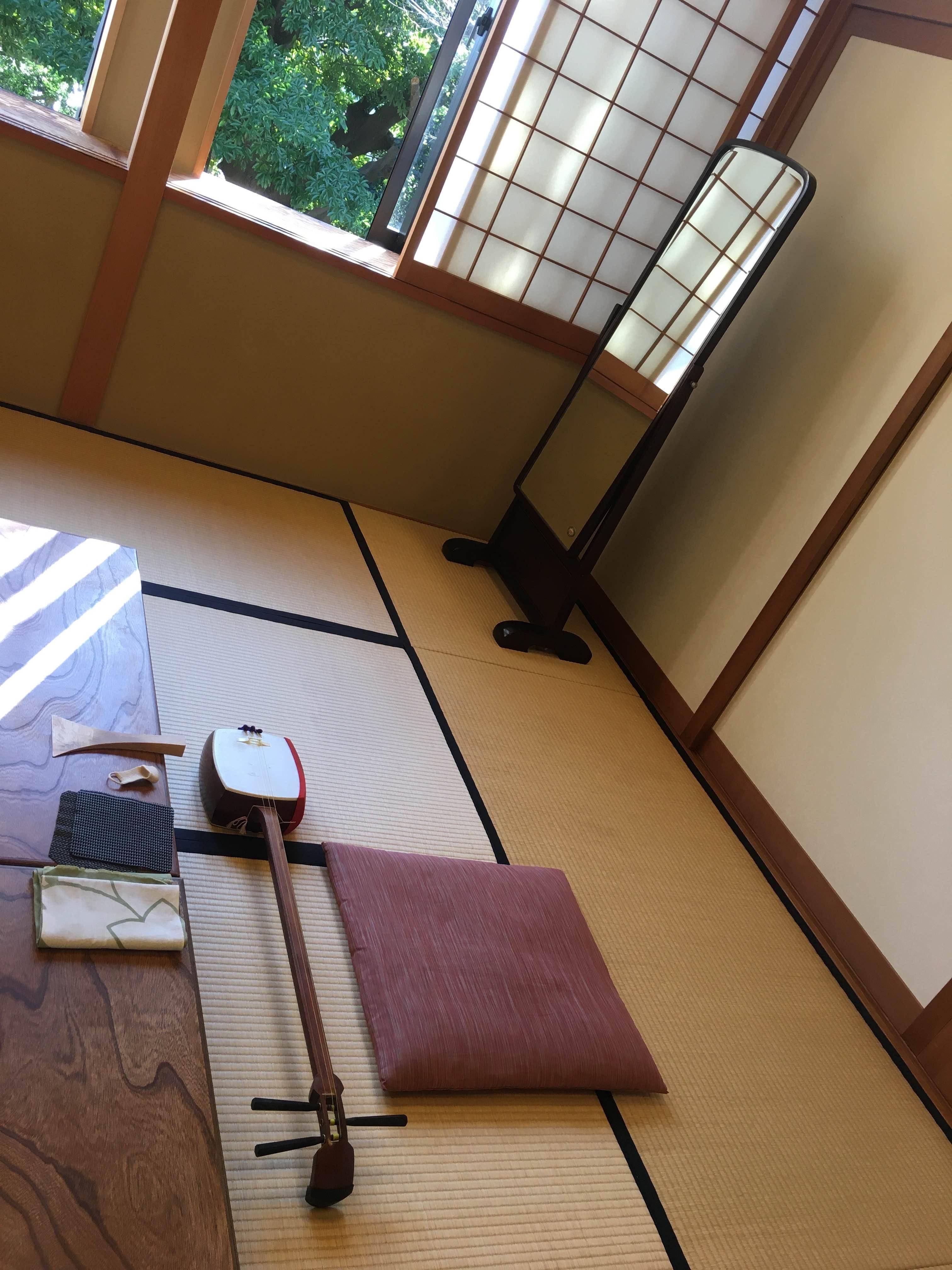 横浜能楽堂 長唄・三味線教室