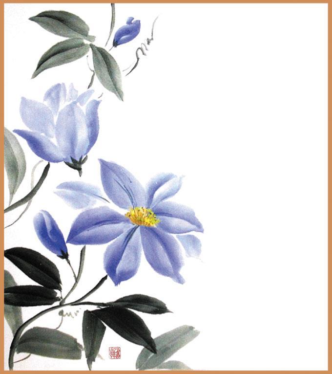 ★大阪城東教室★四季を楽しむ大人の絵画教室