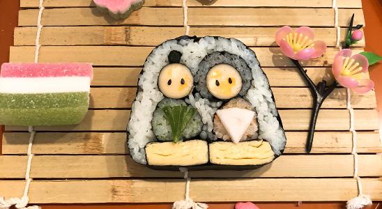 大阪巻子のデコ巻き寿司教室